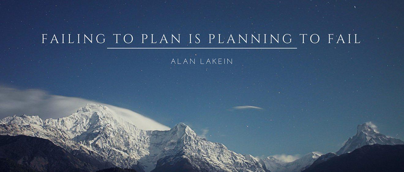 Contentplanning Alan Lakin Quote - Prowinst.nl