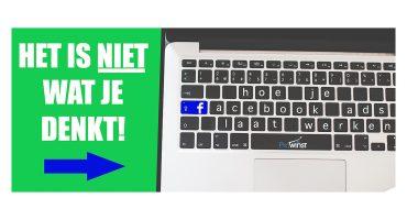 Waarom Facebook advertising niet voor je werkt (en hoe je het wel kan laten werken)