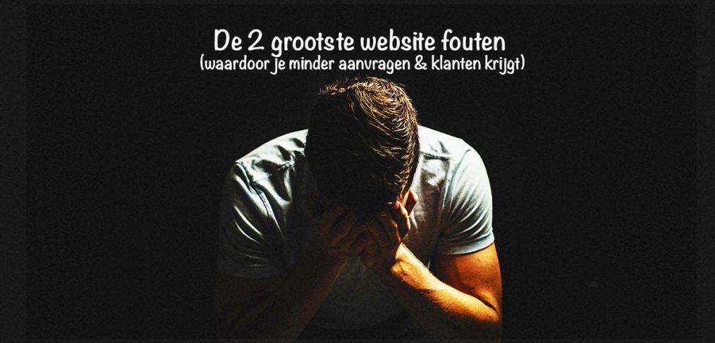 2 grootste website fouten Prowinst