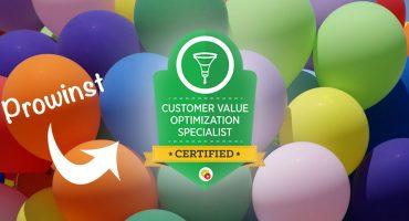 Prowinst certificering Customer Value Optimization
